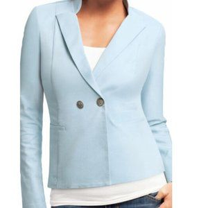 CABI WEDGEWOOD JACKET BABY LIGHT BLUE SIZE 6